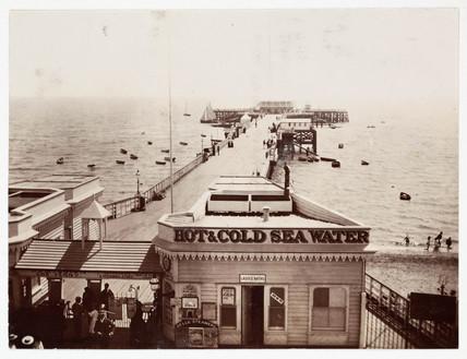 Harwich Pier, c 1900.