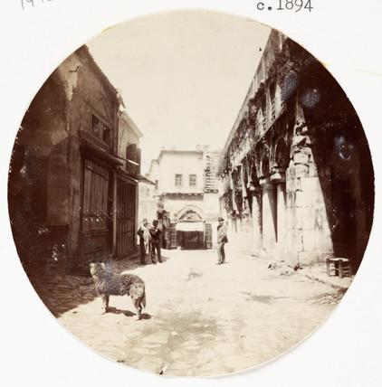 Street scene, c 1894.