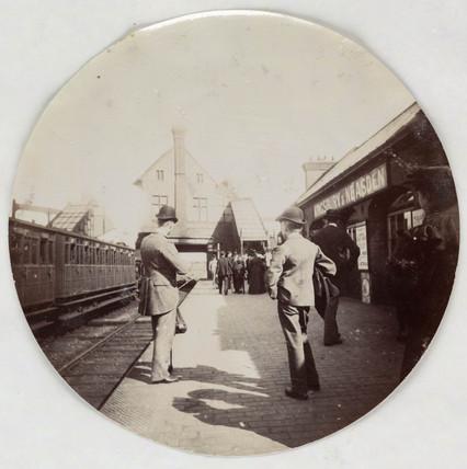 Kingsbury & Neasden Station, c 1890.