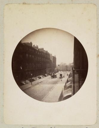 London street scene, c 1890s.