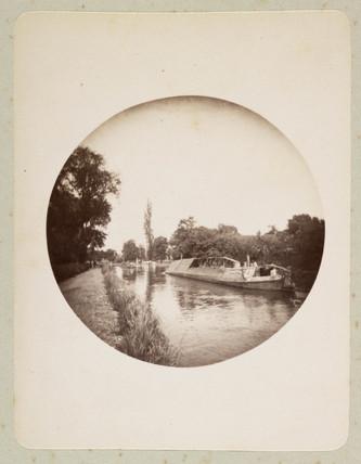 Narrow boat, 1888.