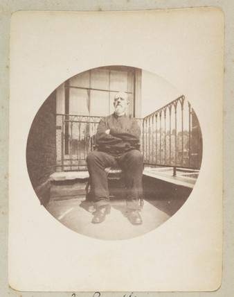 Man on a balcony, 1888.