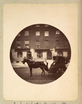 Hansom cab, 1888.