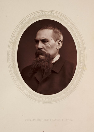 'Captain Richard Francis Burton', 1876.