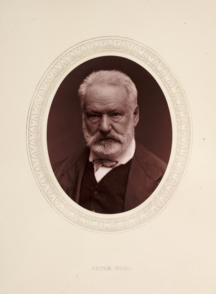 'Victor Hugo', 1877.