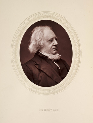 'Sir Henry Cole', 1877.