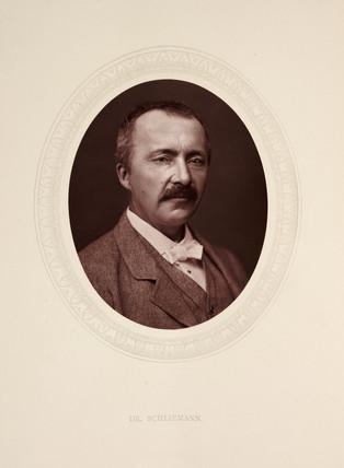'Dr. Schliemann', 1877.