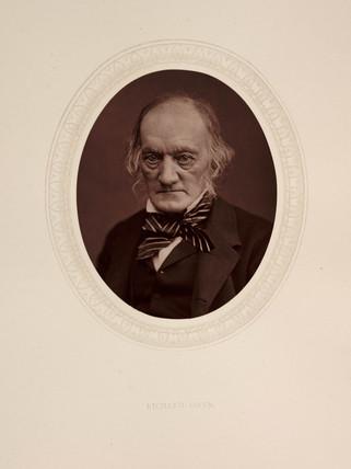 'Richard Owen', 1878.