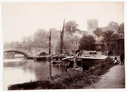 Aylesford, Kent, c 1890.