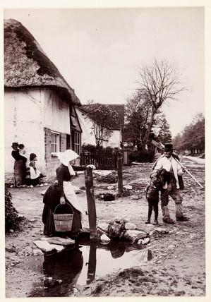 'Village News', 1889.