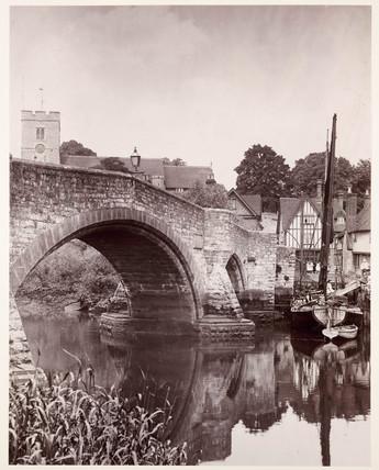 'Aylesford, Kent', c 1890.