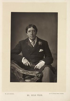 'Mr. Oscar Wilde', 1891.