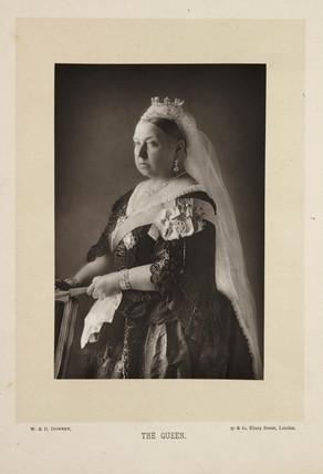 'The Queen',  1892.