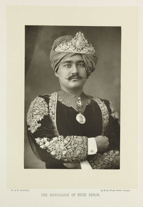 'The Maharajah of Kuch Behar', 1894.