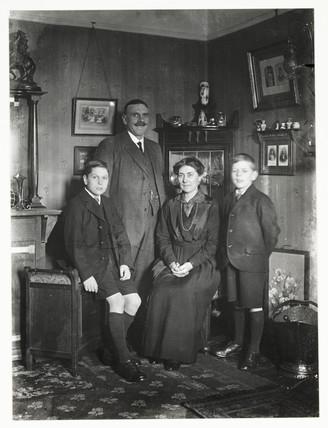Family group, c 1915.