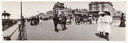 Brighton promenade, c 1905.