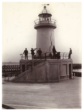 Lighthouse, c 1905.