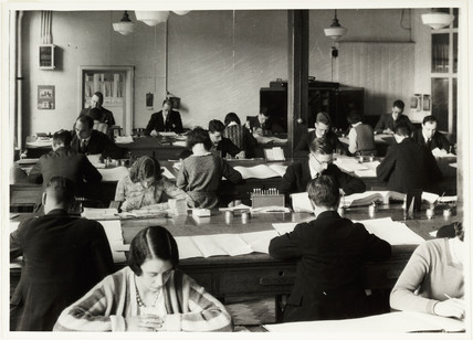 Office workers, c 1930.