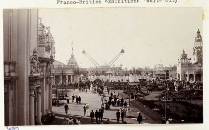 Franco-British Exhibition, White City, London, 1908.