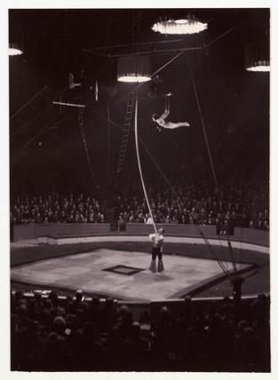 Circus acrobats, c 1936.