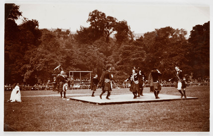 Highland dancers, c 1935.