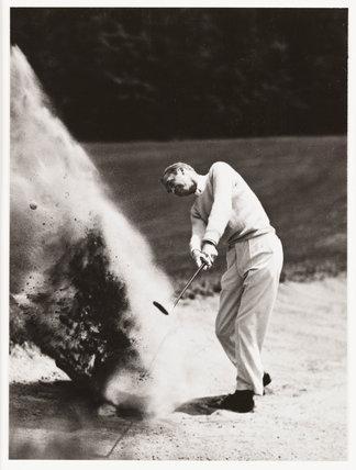 Golfer, c 1935.