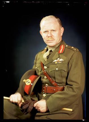 'Major-General Lejeune', c 1943.