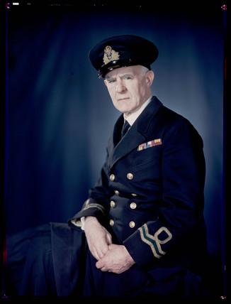 'Norman Wilkinson, Naval Artist', c 1943.