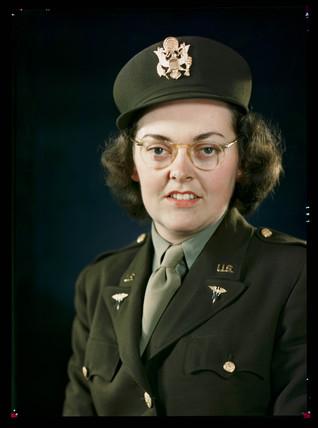 'Lieutenant Doyle', c 1944.