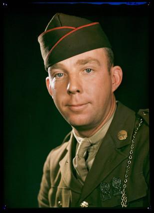 'Sgt Everitt', c 1944.
