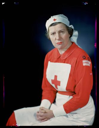 'Mrs Claude Elliott, WVS', c 1943.