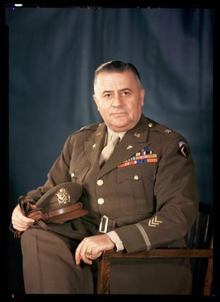 American officer, c 1944.