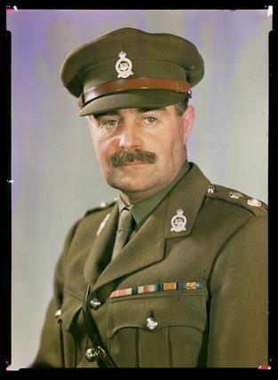 'Lieutenant Colonel Brummel', c 1943.