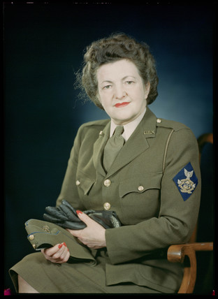 'Mrs Bateman, US Navy', c 1943.
