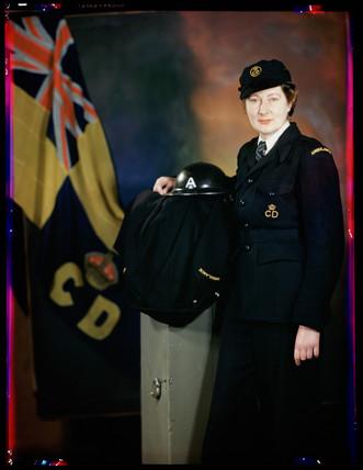 'Miss Carter', c 1943.