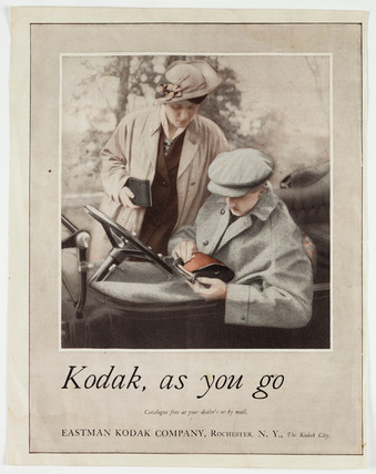'Kodak as you go', Kodak camera advertisement, c 1920s.