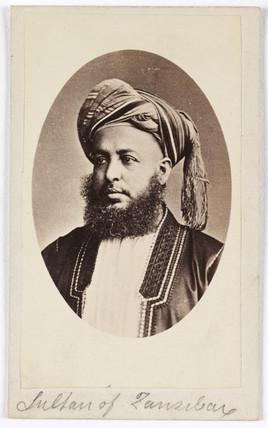 'Sultan of Zanzibar', c 1865.