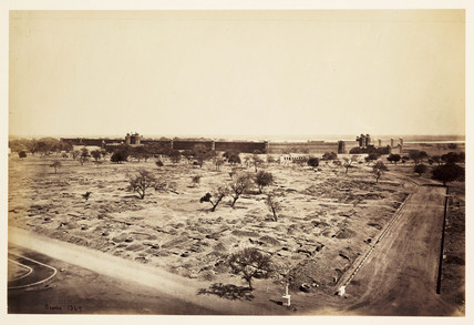 'Delhi - The Palace', c 1865.