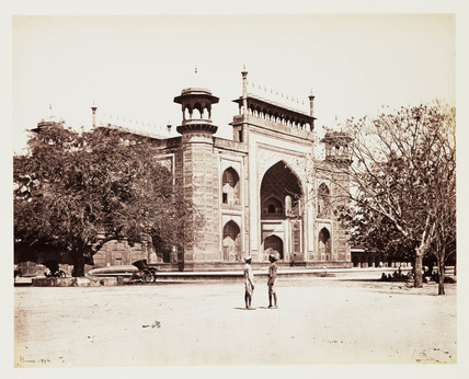 'Gate Of The Taj', c 1865.