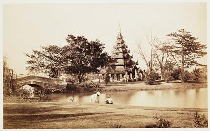 Pagoda, India, c 1865.
