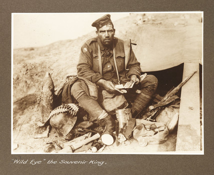 'Wild Eye, the Souvenir King', c 1917.