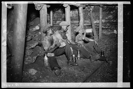 Welsh miners, 1931.
