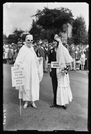 Fancy dress parade, 1932.