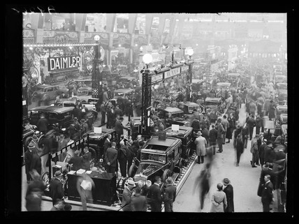 Motor Show at Olympia, 1932.