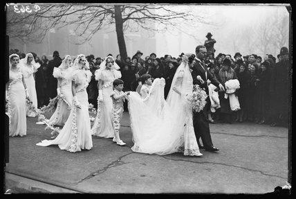 Wedding group, 1933.