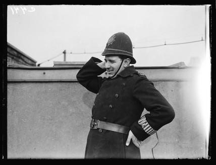 A policeman, 1933.