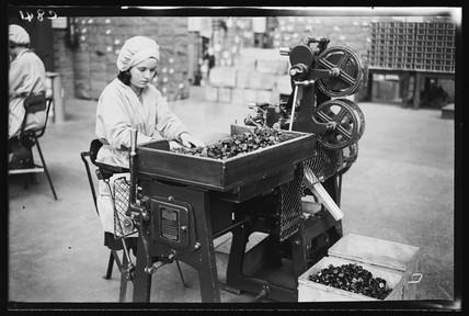 Worker in a sweet factory, 1933.