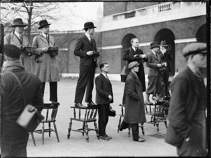 Press photographers, c 1935.