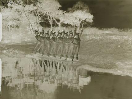 'The Sherman Fisher Palladium Girls rehearsing their Bunny Dance,' 1933.
