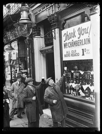 Cheaper beer, 1933.